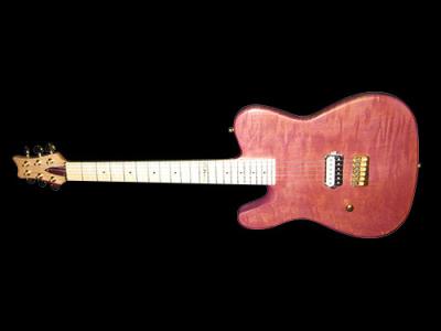 Custom – chitarra elettrica solid body a manico incollato