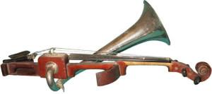 Restauro di un violino di Stroh
