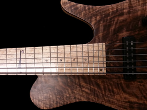 Basso 6 corde neck thru - F type / custom copy su richiesta