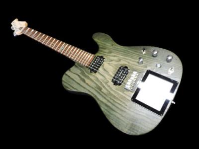 chitarra-artigianale-kaoss-pad